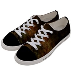 Marbled Structure 4a Women s Low Top Canvas Sneakers by MoreColorsinLife
