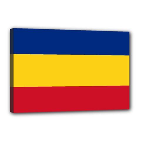 Gozarto Flag Canvas 18  X 12  by abbeyz71