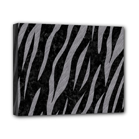 Skin3 Black Marble & Gray Colored Pencil Canvas 10  X 8  by trendistuff