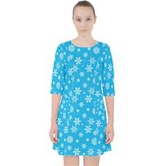 Xmas Pattern Pocket Dress by Valentinaart