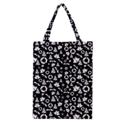 Xmas Pattern Classic Tote Bag by Valentinaart