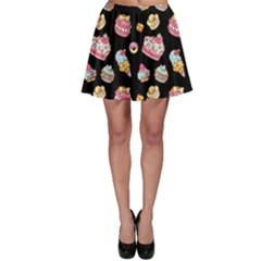 Sweet Pattern Skater Skirt by Valentinaart
