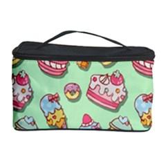 Sweet Pattern Cosmetic Storage Case by Valentinaart
