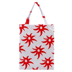 Star Figure Form Pattern Structure Classic Tote Bag by Nexatart