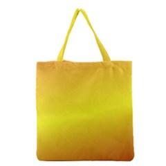 Gradient Orange Heat Grocery Tote Bag by Nexatart