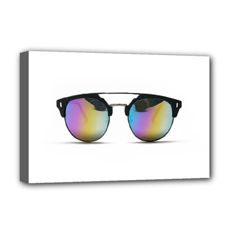 Sunglasses Shades Eyewear Deluxe Canvas 18  X 12   by Nexatart