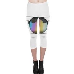 Sunglasses Shades Eyewear Capri Leggings  by Nexatart