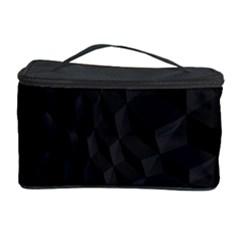 Pattern Dark Black Texture Background Cosmetic Storage Case