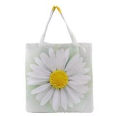 Art Daisy Flower Art Flower Deco Grocery Tote Bag by Nexatart