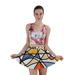 Abstract Background Abstract Mini Skirt