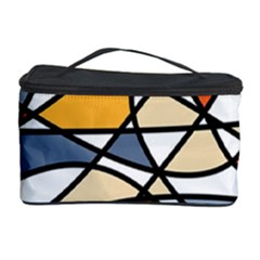 Abstract Background Abstract Cosmetic Storage Case by Nexatart