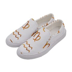 Signs Of The Zodiac Zodiac Aries Women s Canvas Slip Ons by Nexatart