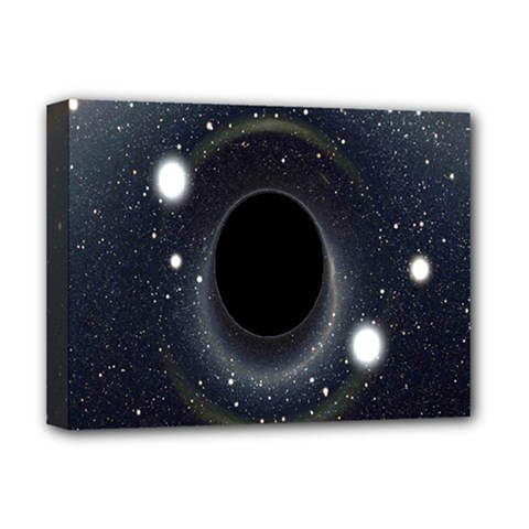 Brightest Cluster Galaxies And Supermassive Black Holes Deluxe Canvas 16  X 12   by Mariart