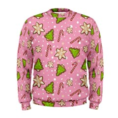Ginger Cookies Christmas Pattern Men s Sweatshirt by Valentinaart