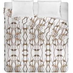 200417003 Villawood Duvet Cover Double Side (king Size) by tresfoliaorangeyellowbrown