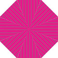 Pink Line Vertical Purple Yellow Fushia Straight Umbrellas by Mariart