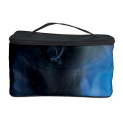 Space Star Blue Sky Cosmetic Storage Case by Mariart