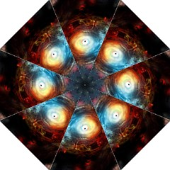 Supermassive Black Hole Galaxy Is Hidden Behind Worldwide Network Straight Umbrellas by Mariart