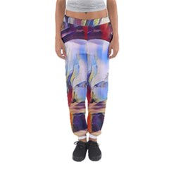 Abstract Tunnel Women s Jogger Sweatpants by 8fugoso