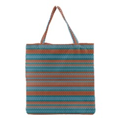 Winter Pattern 1 Grocery Tote Bag by tarastyle