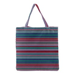 Winter Pattern 4 Grocery Tote Bag by tarastyle