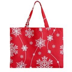 Winter Pattern 9 Zipper Mini Tote Bag by tarastyle