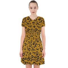 Golden Leopard Adorable In Chiffon Dress