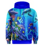DOLPHINES AT THE CORAL REEF sweat shirt - Men s Pullover Hoodie