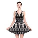 Halloween pattern Reversible Skater Dress