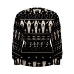 Halloween pattern Women s Sweatshirt