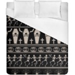 Halloween pattern Duvet Cover (California King Size)