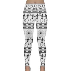 Halloween Pattern Classic Yoga Leggings by ValentinaDesign