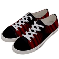 Black Red Door Women s Low Top Canvas Sneakers by Mariart