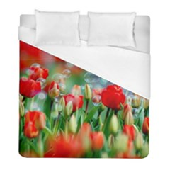 Colorful Flowers Duvet Cover (full/ Double Size) by Mariart