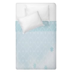 Flower Blue Polka Plaid Sexy Star Love Heart Duvet Cover Double Side (single Size) by Mariart