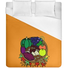 Healthy Vegetables Food Duvet Cover (california King Size)