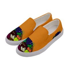 Healthy Vegetables Food Women s Canvas Slip Ons by Mariart