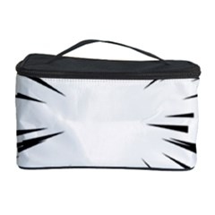 Line Black Sun Arrow Cosmetic Storage Case by Mariart