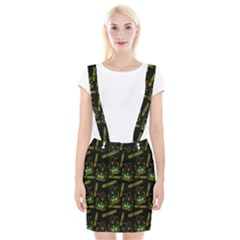 Pattern Halloween Witch Got Candy? Icreate Braces Suspender Skirt