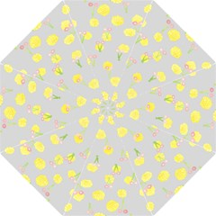 Cute Fruit Cerry Yellow Green Pink Golf Umbrellas by Mariart