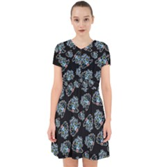 Pattern Halloween Zombies Brains Adorable In Chiffon Dress