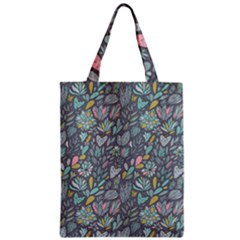 Cactus Pattern Green  Zipper Classic Tote Bag by Mishacat