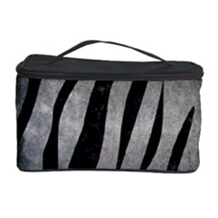 Skin3 Black Marble & Gray Metal 1 (r) Cosmetic Storage Case by trendistuff
