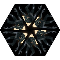 Werewolf Mini Folding Umbrellas by Valentinaart