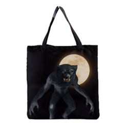 Werewolf Grocery Tote Bag by Valentinaart