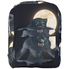 Werewolf Full Print Backpack by Valentinaart