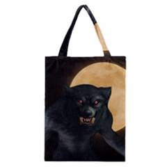 Werewolf Classic Tote Bag by Valentinaart