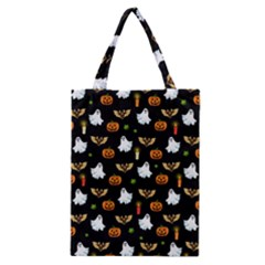 Halloween Pattern Classic Tote Bag by Valentinaart