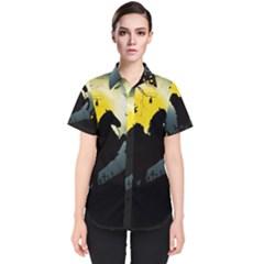 Headless Horseman Women s Short Sleeve Shirt by Valentinaart