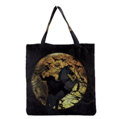 Headless Horseman Grocery Tote Bag by Valentinaart